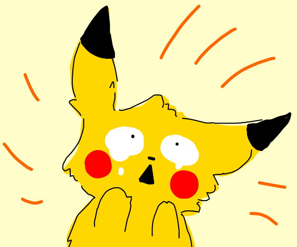 pikachu having an existential crisis