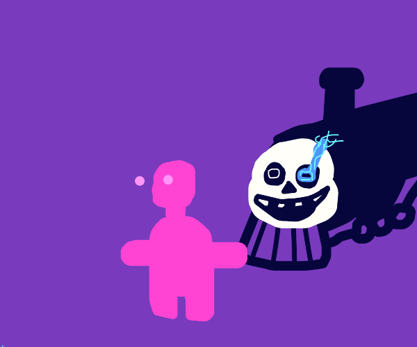 sans train gonna hit someone with vr headset