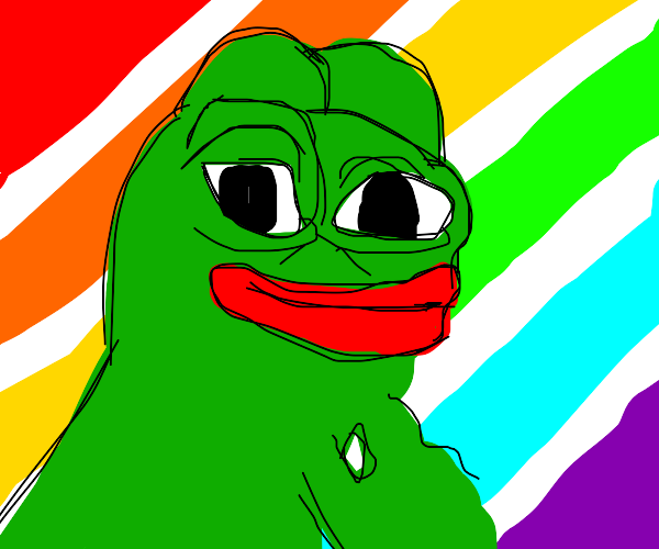 pepe frog in 4k resolution