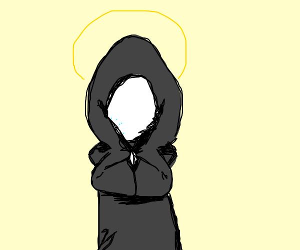Robed Egg-Cult Preacher