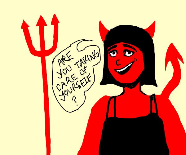 Friendly devil