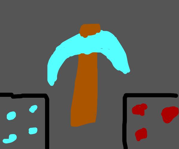 minecraft diamond picaxe