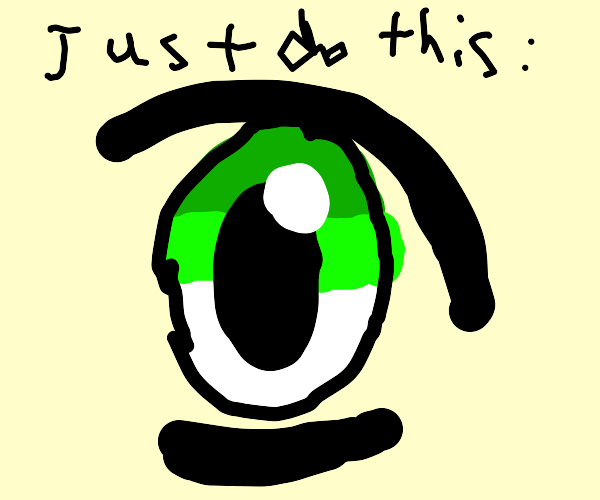 How To Draw Anime Eyes: