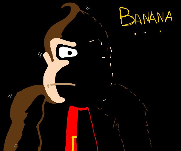 Donkey Kong hungers.