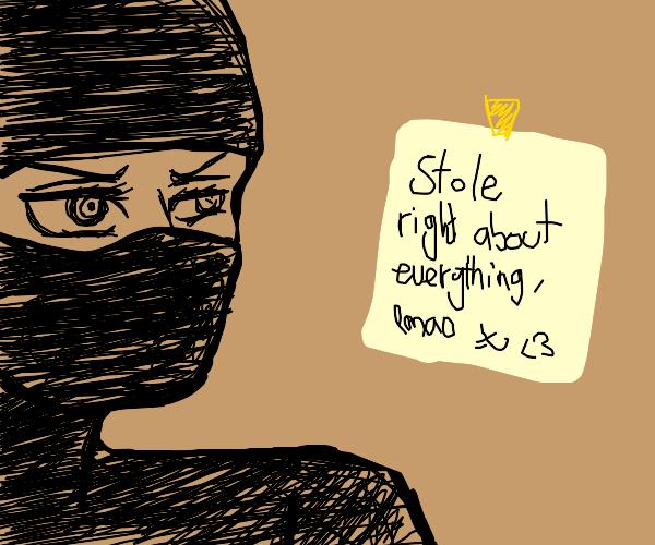 Thief Writing