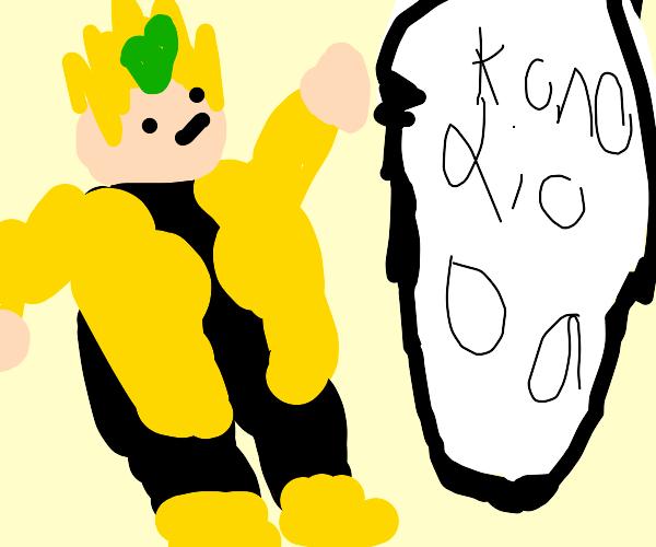 """Cute Dio says """"KONO DIO DA!!!"""""""