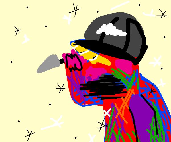 Rainbow notdildo