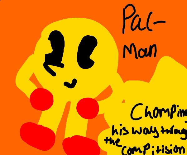 Steampunk Smash-style Pac Man