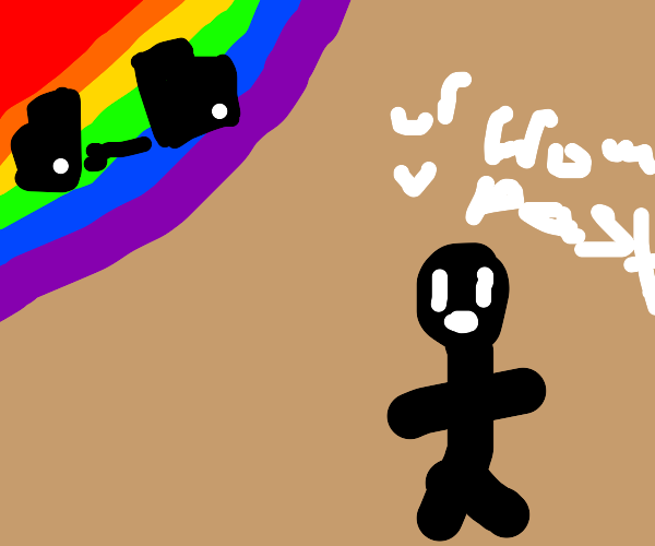 Rainbow from the Past