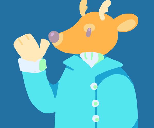A deer human
