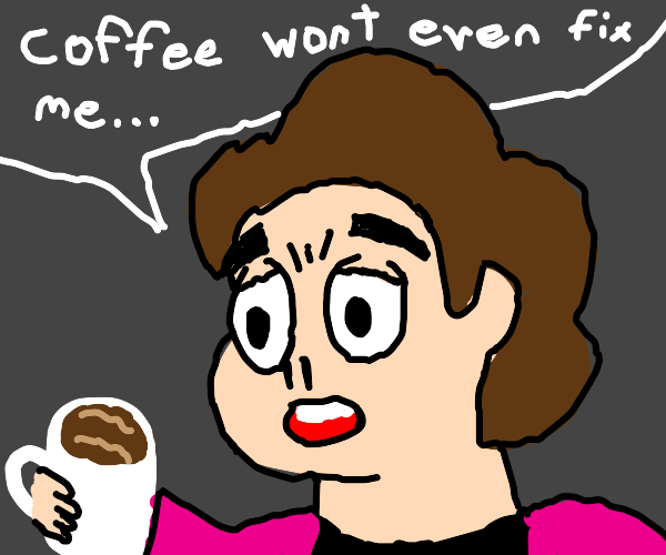 Coffee can't ease Steven Universe's trauma