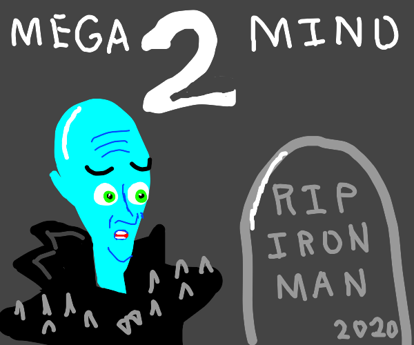 Iron man dies in megamind 2