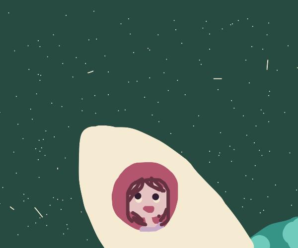 Going Spaceward