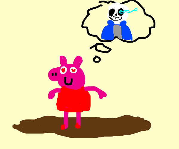 A man in the mud thinks about Sans