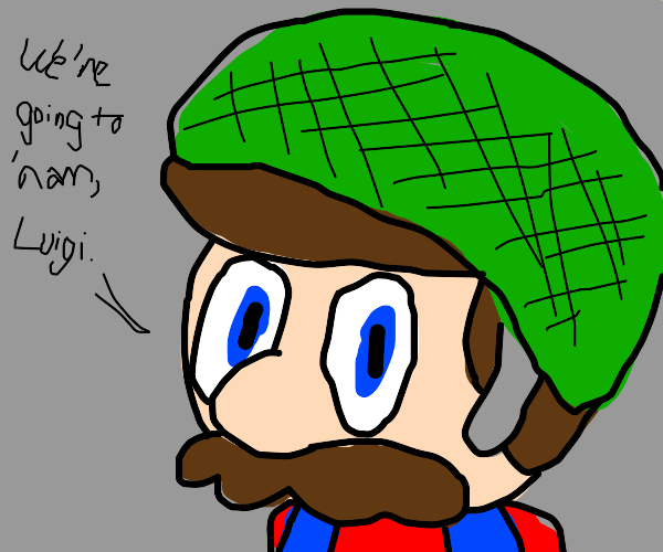 Mario goes to war