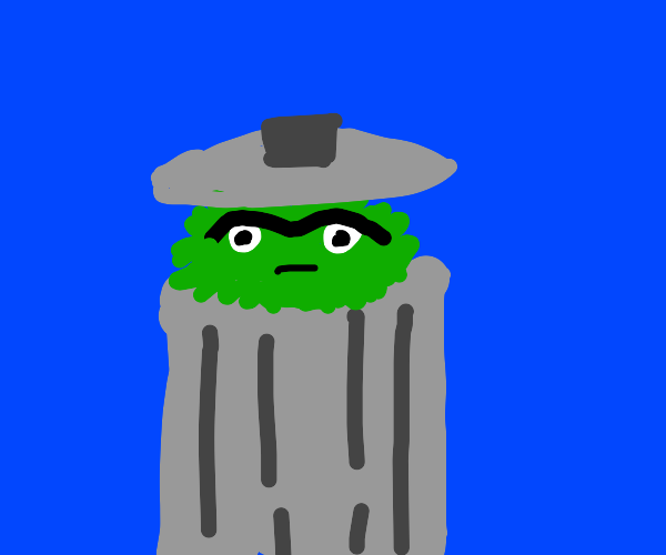 angry trash dude from muppets