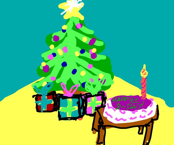 1st birthday Christmas