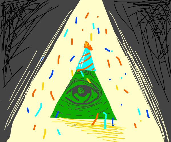 Illuminati having a party