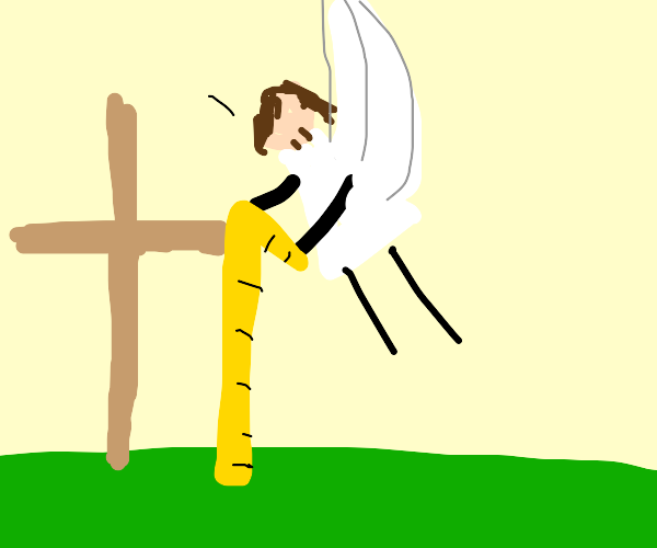 jesus measures the height of his grave