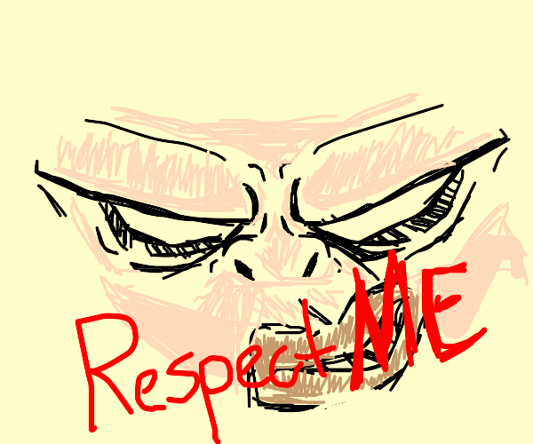 Please treat all panels w/ respect... -Person