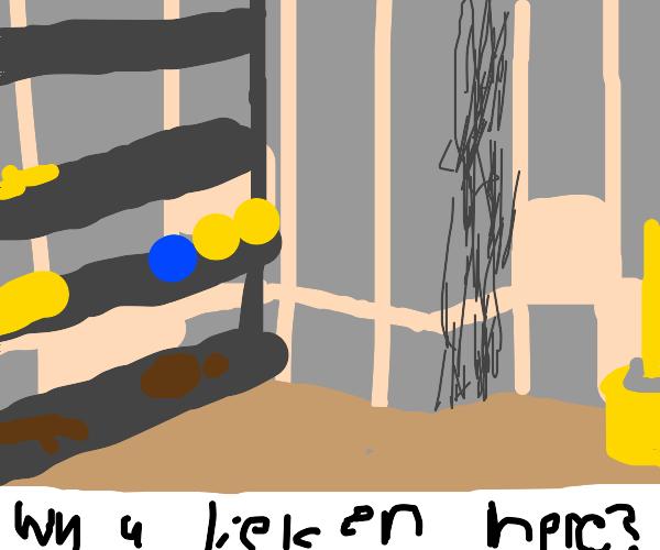 The Broom Closet Ending Drawception