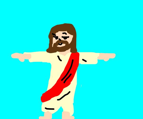 Jesus tposing