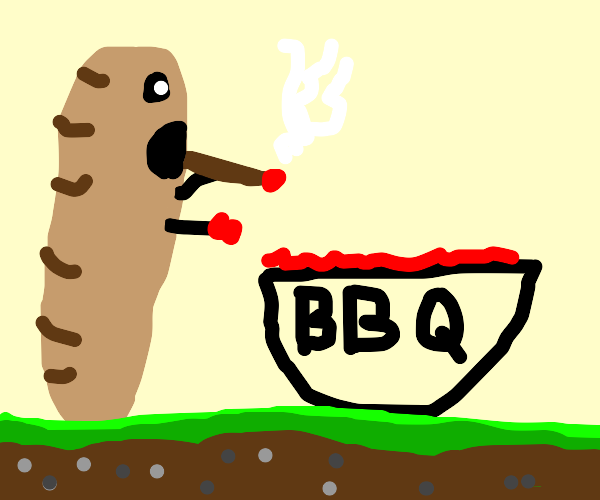Bread trying to use a bbq to smoke weed