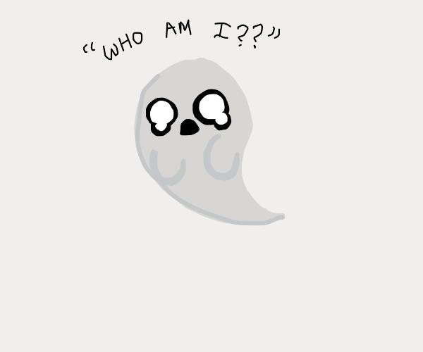 Sad ghost has identity crisis