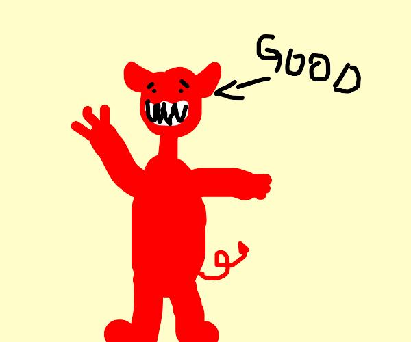 Happy demon guy :)