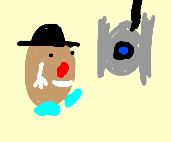 Mr potato head and Wheatley