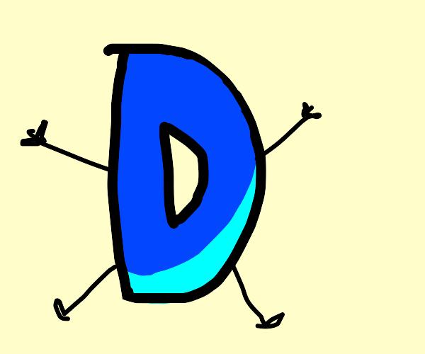 Drawception D logo