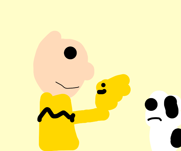 Charlie Brown Replaces Snoopy