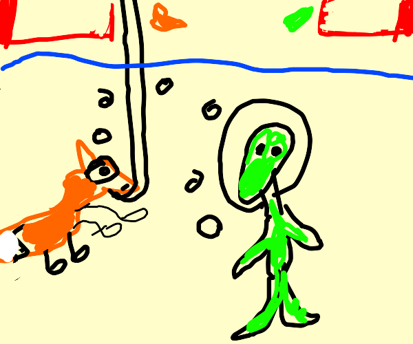 Underwater fox and alien have low hp