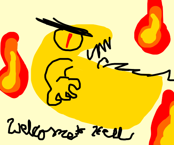 pac man from hell