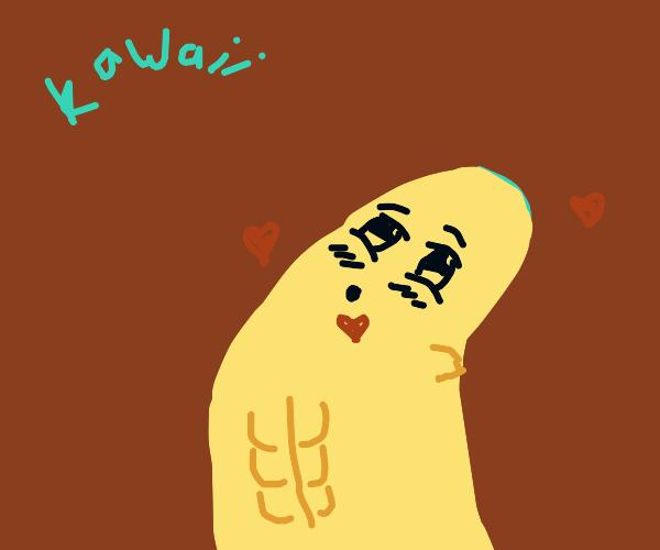 Kawaii thumb with a 6 pack