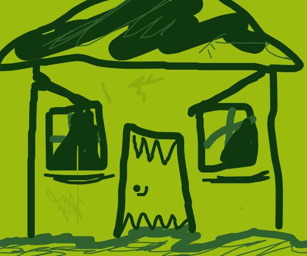 MONSTER HOUSE?!