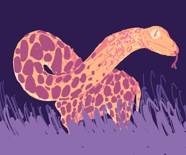 Rattle Snake and Giraffe Combined