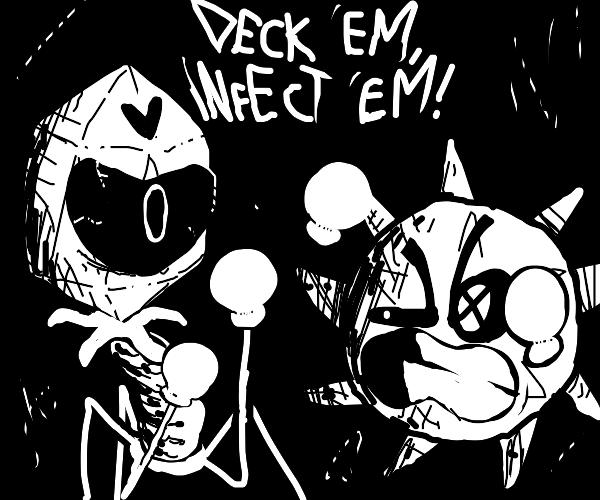 virus battle