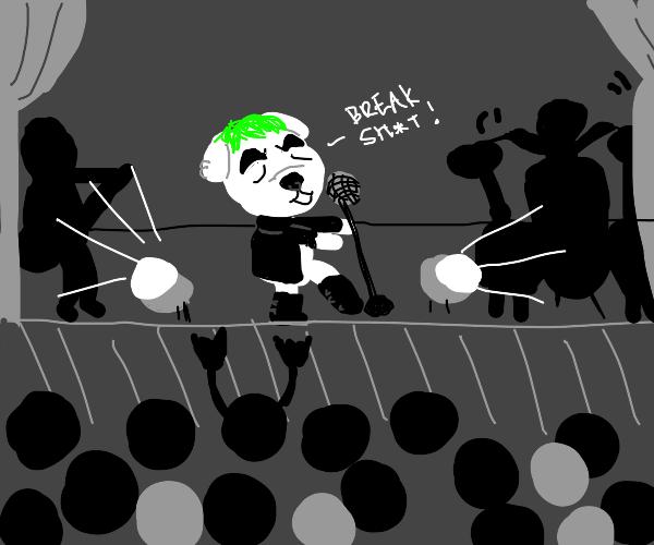 K.K. Slider joins a punk band
