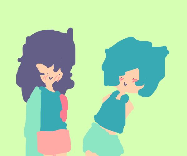 wlw but one girl is shy