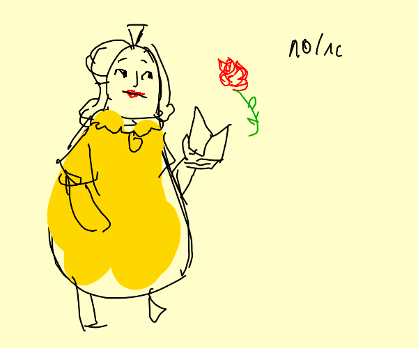 bell, but she looks like a fruit