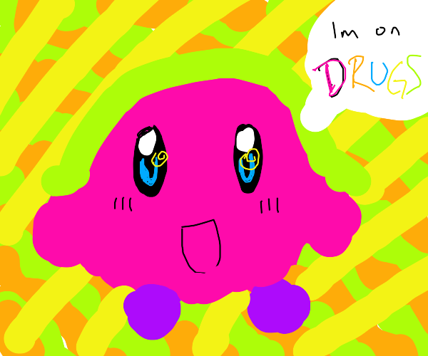 Psychedelic Kirby