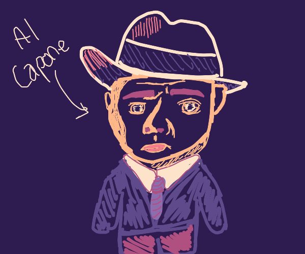 Am Capone with a chibi body