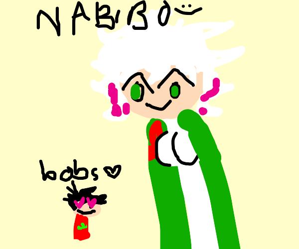nagito from danganronpa