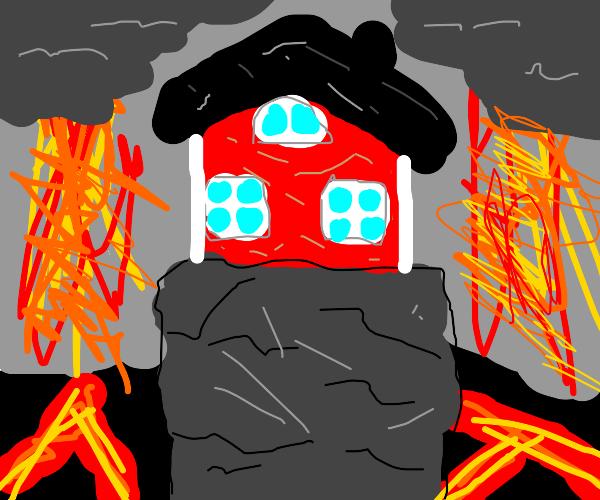 House in the apocalypse