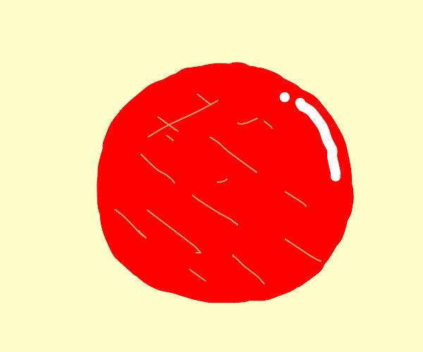 red cirlce