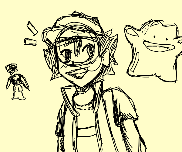 Pokémon master with ditto