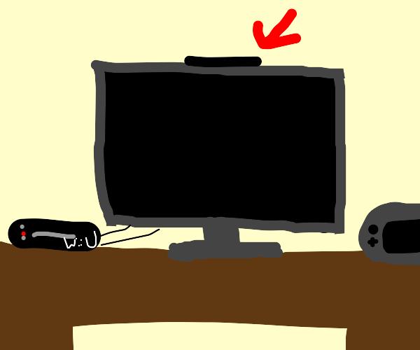 Wii U sensor bar