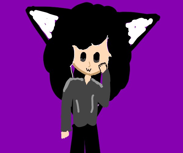 floofy catgirl