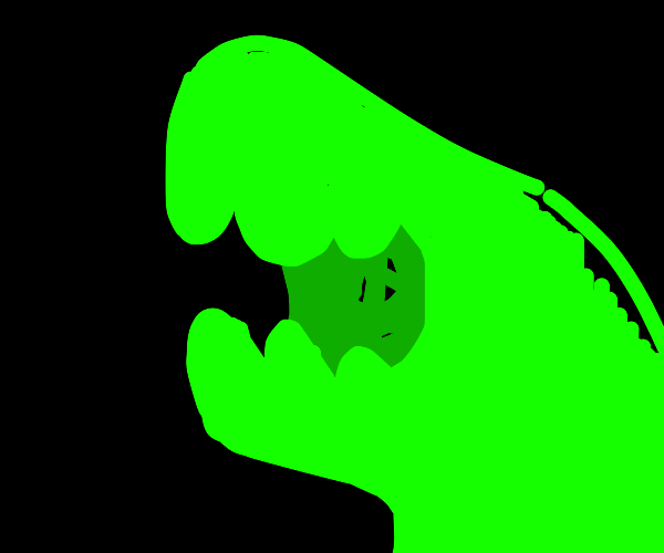 glow in the dark dinosaur